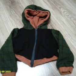 short drape jacket