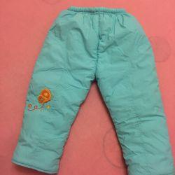 pantaloni de iarna pentru copii