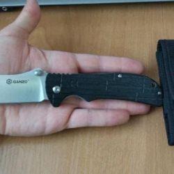 Folding knife Ganzo G723, black