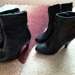 Boots, river 37.5-38, leather