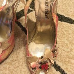 Sandals Sasha Fabiani (leather)