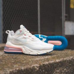 Nike Air Max 270 Αντίδραση Ghost Aqua πάνινα παπούτσια