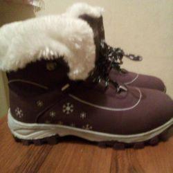Новые Зимнии ботинки р.37
