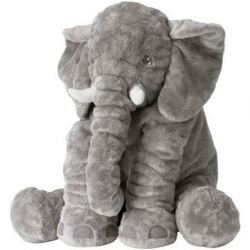 Soft toy, elephant. Length: 60 cm. Sweden.