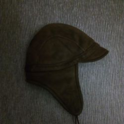 Hat for a boy from a sheepskin