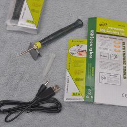 Компактный USB паяльник