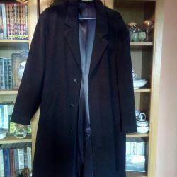 Coat husband 50p, cashmere, Italy, wool