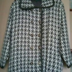 knitted coat Size 52-56