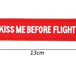 Брелок. Авиация. KISS ME BEFORE FLIGHT