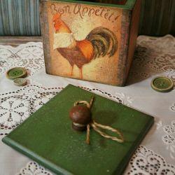 Короб кухня подарок декупаж декор