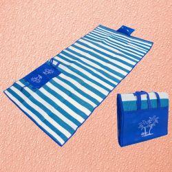 Пляжный коврик с ручками для переноски