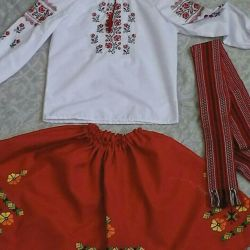 Folk costume 134-156