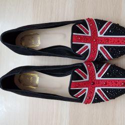 Kadın bale ayakkabıları