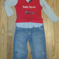 Set of jeans + jacket