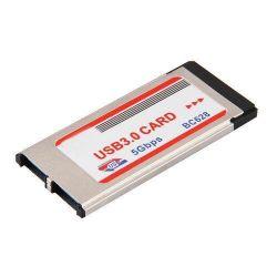 ExpressCard 34mm USB 3.0 x 2 NEC Denetleyici