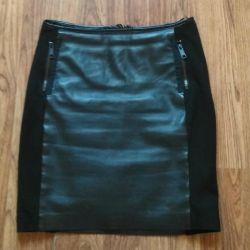 Leather skirt Tom Tailor