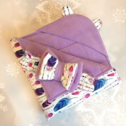 Envelope-blanket for a newborn