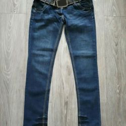 New jeans with a belt. P 46