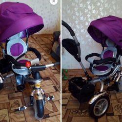 Bicicletă NEO3 cu scaun pivotant