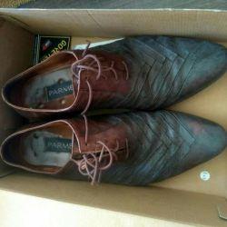 Ботинки кожаные размер 39-40