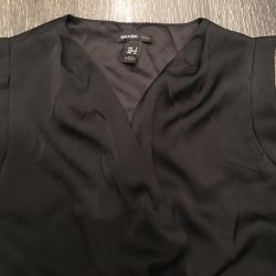 Μαύρο φόρεμα με μαόνι