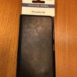 Δερμάτινη θήκη για το Nokia Lumia 550