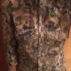 Μεταξωτή μπλούζα 44 splensilk