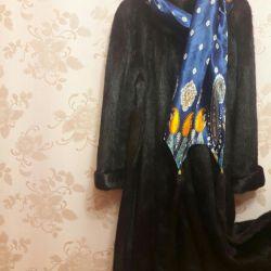 Nutria fur coat + hat as a gift