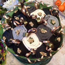 Men's Sock Bouquets