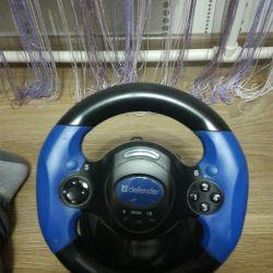 Direksiyon simidi ve pedallar