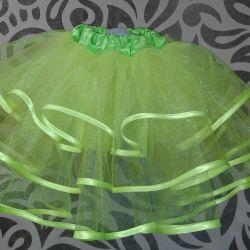 Skirt of tulle