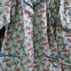 Женская пижама фланель