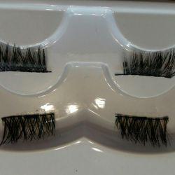 Eyelashes on magnets