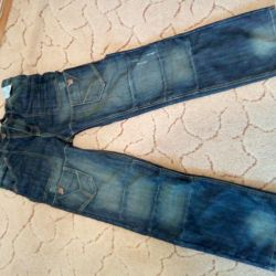 Children's new jeans from the Czech Republic