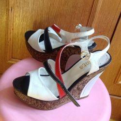 sandale Turcia nat. piele r. 38