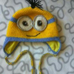 Pălărie pentru copii timp de 2-3 ani