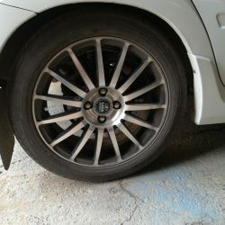 Selling wheels. Good condition. Rubber 195 50 16