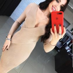 New dress on the smell of midi noodles female