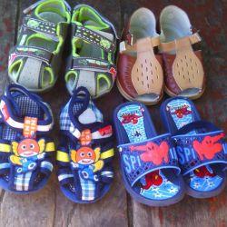Çocuk yaz ayakkabısı