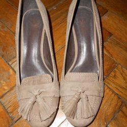 Кожаные туфли tervolina 38 размер