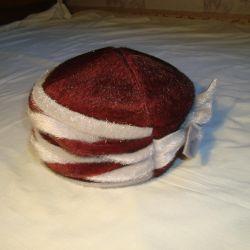 Şapka n Kış 58sm Yeni Astar yapağı.