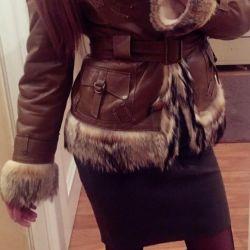 Women's fur coat !!! New !!!