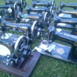 Mașini de cusut vechi