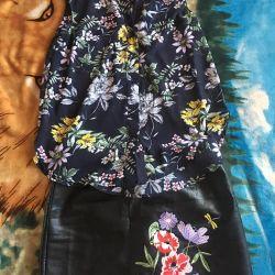 Fustă și bluză H&M