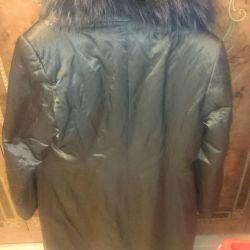 Пальто женское зимнее 50-52 р.