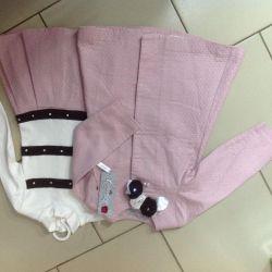 Coat + rochie