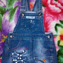 Jeans sundress 1-2g