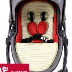 Mattress in the stroller, new.