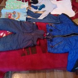 Одежда для мальчика. Пакет110/122см.