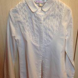 4 μπλούζες σχολείου ρ.122-128